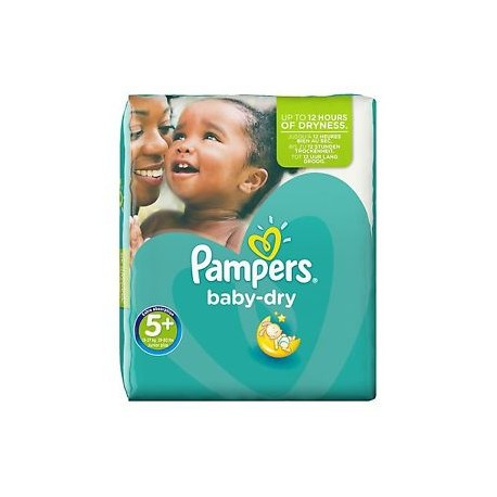 48 couches pampers baby dry taille 5 en solde sur couches center - Couches pampers baby dry ...