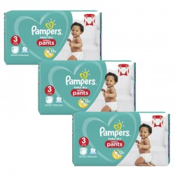 Pampers - Mega pack 104 Couches Baby Dry Pants taille 3 sur Couches Center