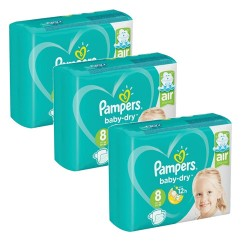 Pampers - Mega pack 160 Couches Baby Dry taille 8 sur Couches Center
