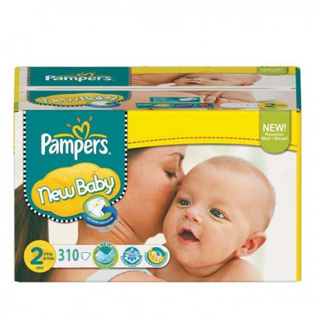 310 Couches Pampers New Baby Taille 2 En Promotion Sur Couches Center