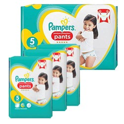 Pampers - Pack 80 Couches Premium Protection Pants taille 5 sur Couches Center