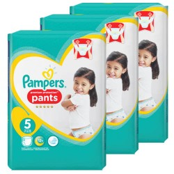 Pampers - Mega pack 160 Couches Premium Protection Pants taille 5 sur Couches Center