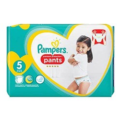 Pampers - Pack 40 Couches Premium Protection Pants taille 5 sur Couches Center