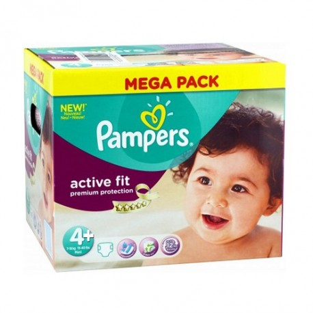 250 couches pampers active fit taille 4 en promotion sur - Couche pampers new baby taille pas cher ...
