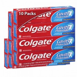 Colgate - 10 Dentifrices Cavity Protection sur Couches Center