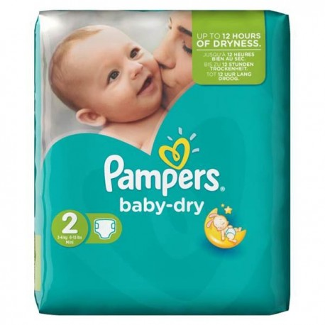 58 Couches Pampers Baby Dry Taille 2 Pas Cher Sur Couches Center