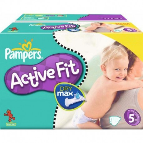 328 Couches Pampers Active Fit Taille 5 Pas Cher Sur Couches Center