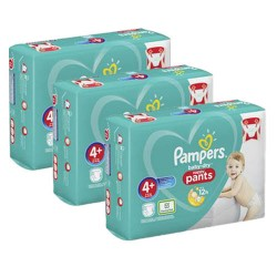 Pampers - Maxi giga pack 350 Couches Baby Dry Pants taille 4+ sur Couches Center