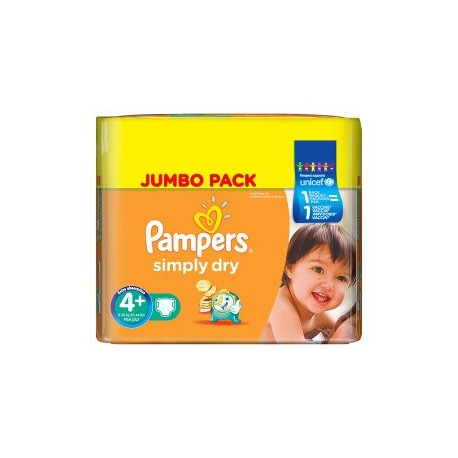 280 couches pampers simply dry taille 4 pas cher sur - Couches pampers taille 4 comparateur prix ...