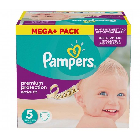 322 couches pampers active fit taille 5 en solde sur couches center - Couche pampers taille 3 pas cher ...