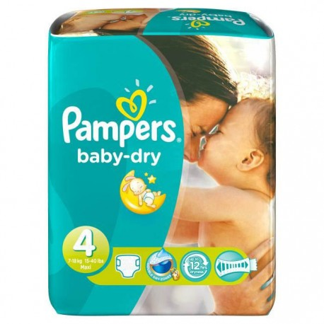 62 couches pampers baby dry taille 4 en promotion sur - Prix couches pampers baby dry taille 4 ...