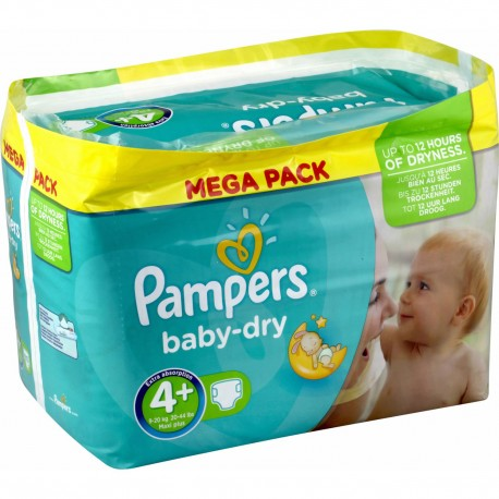 210 couches pampers baby dry taille 4 moins cher sur - Prix couches pampers baby dry taille 4 ...