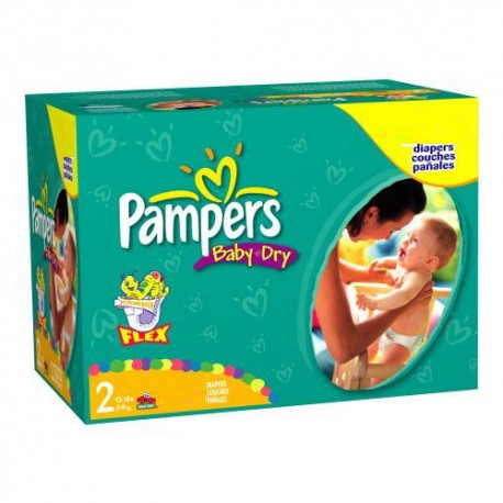 396 couches pampers baby dry taille 2 bas prix sur couches center - Couches pampers baby dry ...
