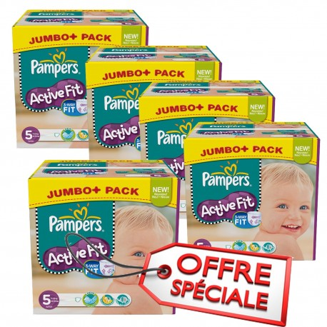 736 Couches Pampers Active Fit Taille 5 Pas Cher Sur Couches Center