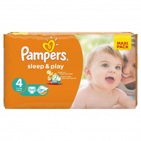 50 couches pampers sleep play taille 4 bas prix sur - Couches pampers taille 4 comparateur prix ...