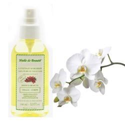 Huile de beauté à l'extrait d'orchidée 100% pur et végétal sur Couches Center