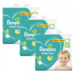 Pampers - Maxi Giga Pack 140 Couches Baby Dry taille 7 sur Couches Center