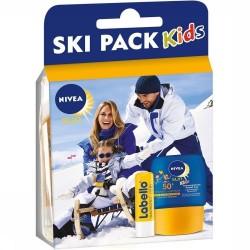 Pack Nivea Kids Ski Protection 50+ et Labello sur Couches Center