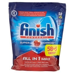 Finish Tabs 63 Powerball Super Charged Special Graisses All in 1 Max (1027 gr) sur Couches Center