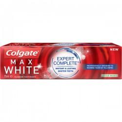 Colgate 75 ml Max White Expert Complete Mild Mint sur Couches Center