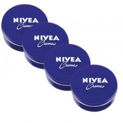Lot de 4 Crème Nivea 250 ml Original sur Couches Center