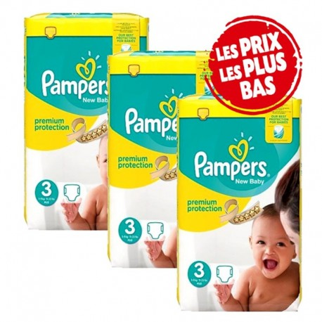 135 couches b/éb/é Taille 5 Couches Pampers new baby premium protection premium protection
