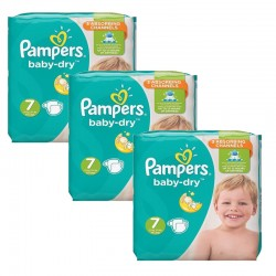 Pampers - Giga Pack 120 Couches Baby Dry taille 7 sur Couches Center