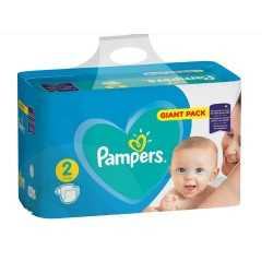 Pampers - Pack 94 Couches Active Baby Dry taille 2 sur Couches Center