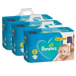 Pampers - Pack jumeaux 752 Couches Active Baby Dry taille 2 sur Couches Center