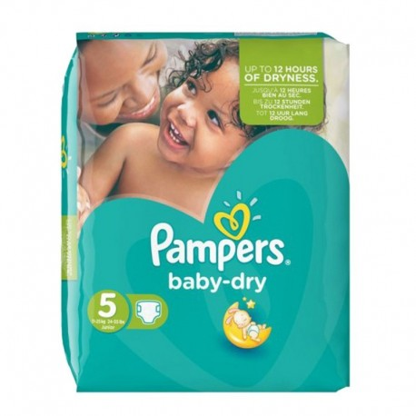 15 Couches Pampers Active Baby Dry taille 3 sur Couches Center
