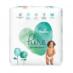 Pampers - Pack 24 Couches Pure Protection taille 5 sur Couches Center