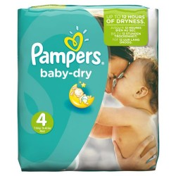 Pampers - Pack 25 Couches Baby Dry taille 4 sur Couches Center