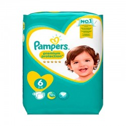 Pampers - Mega pack 120 Couches New Baby Premium Protection taille 6 sur Couches Center