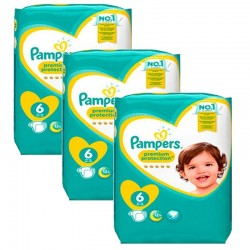 Pampers - Maxi giga pack 360 Couches New Baby Premium Protection taille 6 sur Couches Center