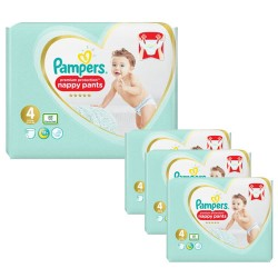 Pampers - Giga pack 235 Couches Premium Protection Pants taille 4 sur Couches Center