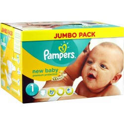 Pampers - Maxi giga pack 352 Couches Premium Protection taille 1