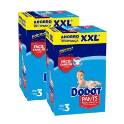 Dodot - Maxi mega pack 444 Couches 0 taille 3 sur Couches Center