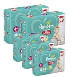 Mega pack 164 Couches Pampers Baby Dry Pants taille 4+ sur Couches Center
