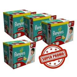 Pampers - Pack jumeaux 672 Couches Baby Dry Pants taille 5 sur Couches Center