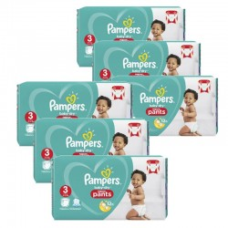 Pampers - Giga pack 285 Couches Baby Dry Pants taille 3 sur Couches Center