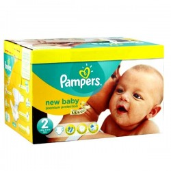 Pampers - Mega pack 156 Couches Premium Protection taille 2 sur Couches Center