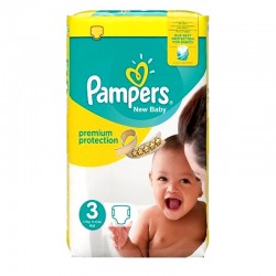 Pampers - Pack 29 Couches Premium Protection taille 3 sur Couches Center