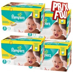 Pampers - Giga pack 272 Couches New Baby Premium Protection taille 3 sur Couches Center