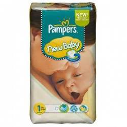 Pampers - Pack 56 Couches Premium Protection taille 1 sur Couches Center