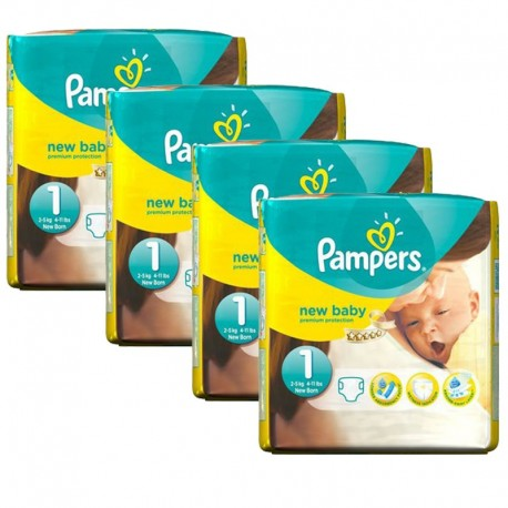 Pampers - Giga pack 224 Couches Premium Protection taille 1 sur Couches Center