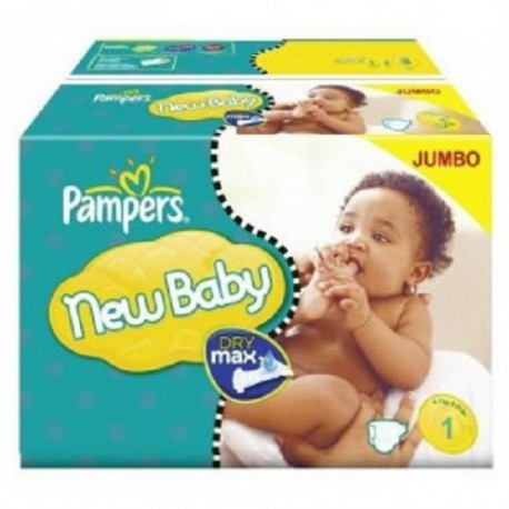 Pampers - Giga pack 280 Couches Premium Protection taille 1 sur Couches Center