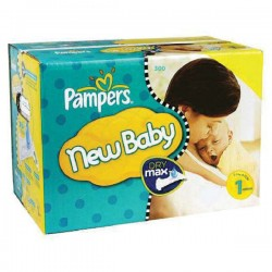 Pampers - Maxi giga pack 392 Couches Premium Protection taille 1 sur Couches Center
