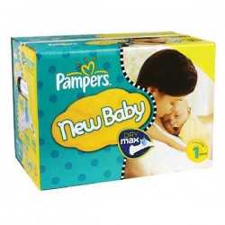Pampers - Pack jumeaux 616 Couches Premium Protection taille 1 sur Couches Center