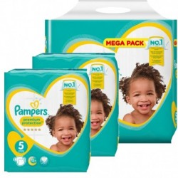 Pampers - Pack jumeaux 816 Couches Premium Protection taille 5 sur Couches Center