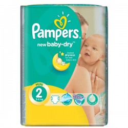 Pampers - Pack 60 Couches Premium Care taille 0 sur Couches Center